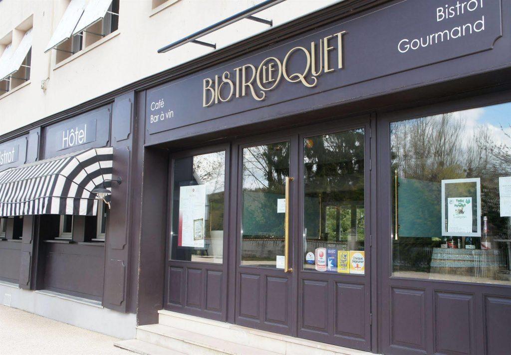 Le-Bistroquet-hotel Restaurant Lusignan